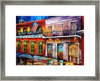 New Orleans' Preservation Hall Framed Print