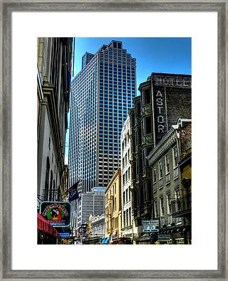 New Orleans - Royal Street 003 Framed Print by Lance Vaughn