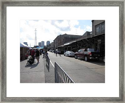 New Orleans - Seen On The Streets - 121213 Framed Print by DC Photographer