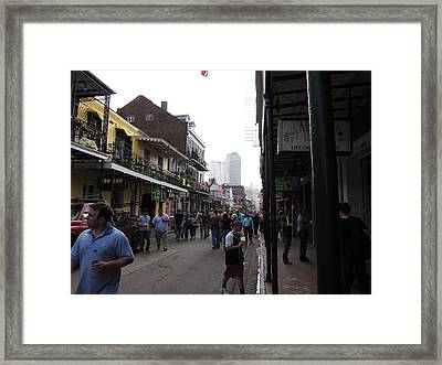 New Orleans - Seen On The Streets - 12128 Framed Print