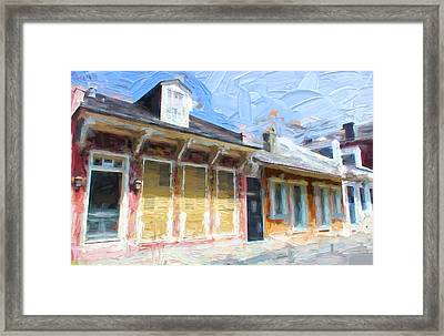 New Orleans Series 51 Framed Print by Carlos Diaz