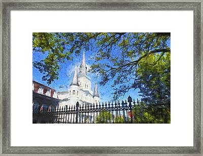 New Orleans Series 52 Framed Print by Carlos Diaz