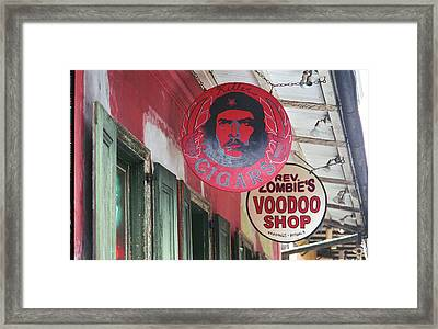 New Orleans Shops Framed Print