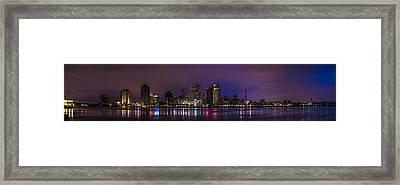 New Orleans Skyline Framed Print