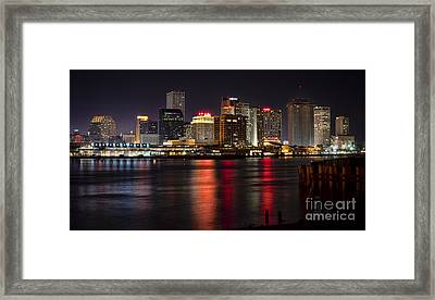 New Orleans Skyline Framed Print