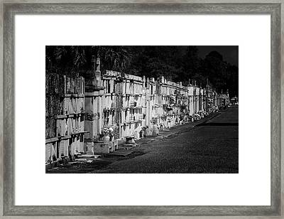 New Orleans St Louis Cemetery No 3 Framed Print