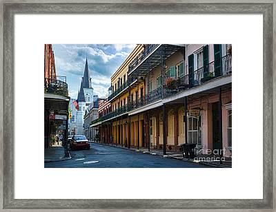 New Orleans Street Framed Print