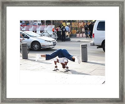 New Orleans - Street Performers - 121211 Framed Print