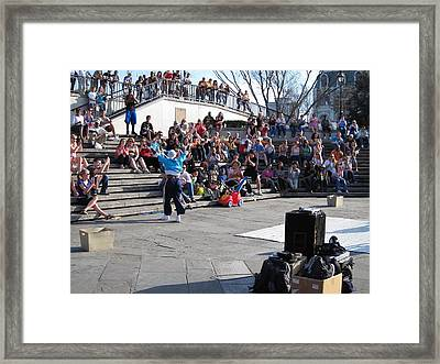 New Orleans - Street Performers - 12123 Framed Print by DC Photographer