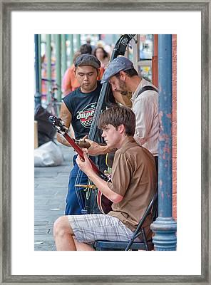 New Orleans Street Trio Framed Print