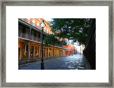 New Orleans Streets 2 Framed Print by Ryan Burton