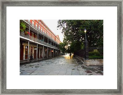 New Orleans Streets Framed Print by Ryan Burton