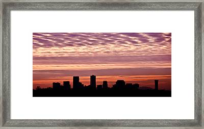 New Orleans Sunrise Framed Print by Renee Barnes