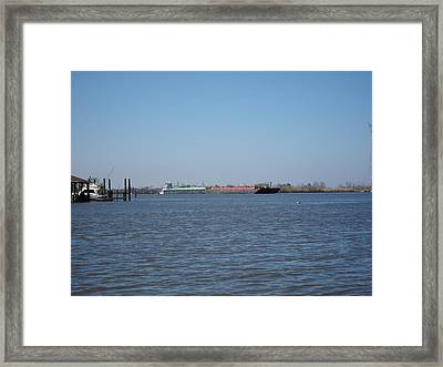 New Orleans - Swamp Boat Ride - 121225 Framed Print by DC Photographer
