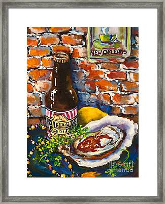 New Orleans Treats Framed Print by Dianne Parks