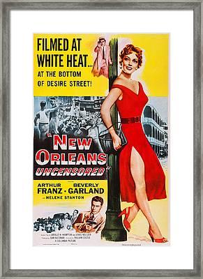 New Orleans Uncensored, Us Poster, Top Framed Print