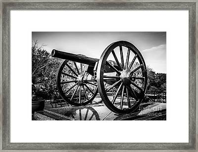 New Orleans Washington Artillery Park Cannon Framed Print