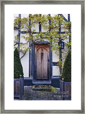 New Photographic Art Print For Sale Doorway 2 In Medieval Lavenham Framed Print