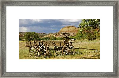 New Photographic Art Print For Sale Ghost Ranch New Mexico 13 Framed Print