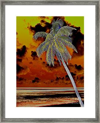 New Photographic Art Print For Sale Paradise Somewhere In The Bahamaramas Framed Print