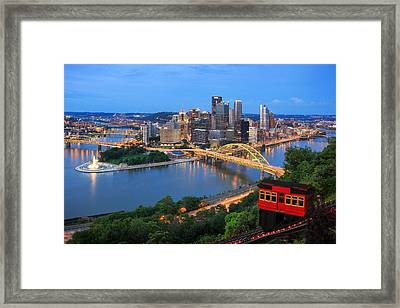 Pittsburgh Summer  Framed Print by Emmanuel Panagiotakis