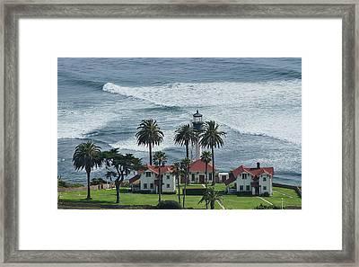 New Point Loma Lighthouse Framed Print