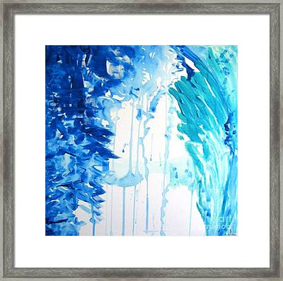 Framed Print featuring the painting New Possibilities by Ilona Svetluska