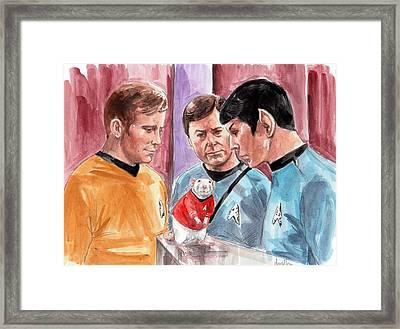 New Rat On The Enterprise Framed Print