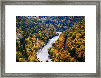 New River Gorge Framed Print