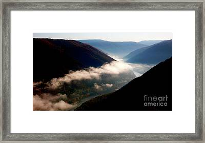 New River Gorge National River                           Framed Print by Thomas R Fletcher