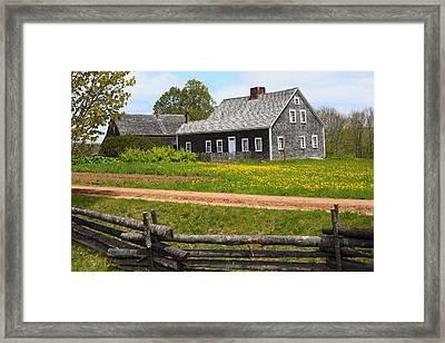 New Ross Farm Museum Framed Print