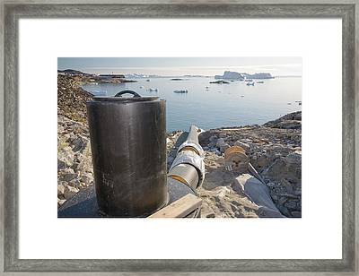 New Sewers Being Laid Framed Print by Ashley Cooper
