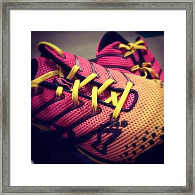 New Shoes For Xfit Framed Print