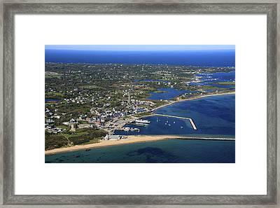 New Shoreham, Block Island Framed Print