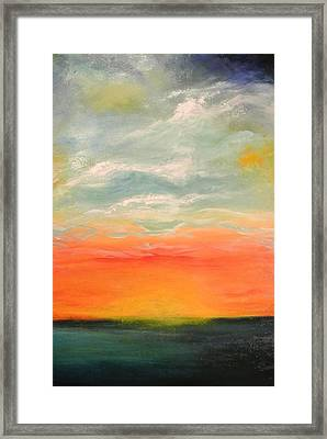 New Sky 2013 Framed Print