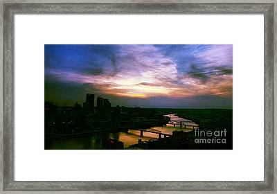 New Slate  Framed Print