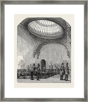 New Station Of The London And North-western Railway Framed Print