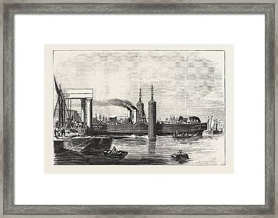 New Steam Ferry-boat For The Thames, The Jessie May Framed Print