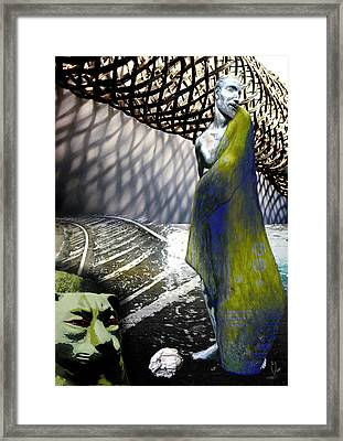 New String Theory Framed Print