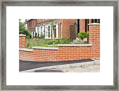 New Wall Framed Print by Tom Gowanlock