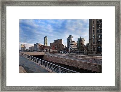New Waterfront Development , Liverpool Framed Print by Panoramic Images