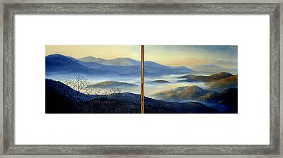 New World Framed Print by Mary Taglieri
