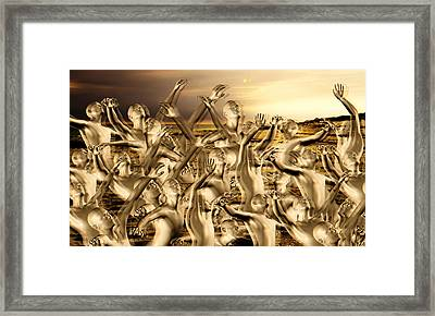 New World Surrender Framed Print by Betsy Knapp