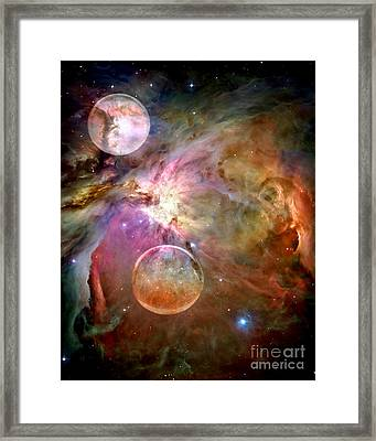 New Worlds Framed Print by Jacky Gerritsen