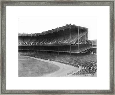 New Yankee Stadium Framed Print by Underwood Archives