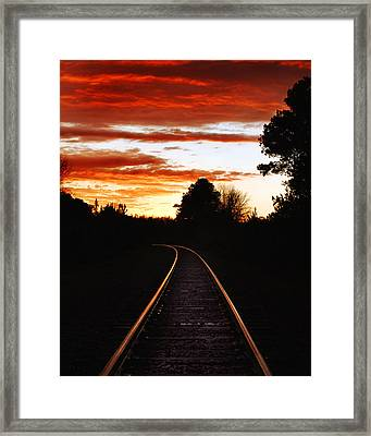 New Years Day 2007 Framed Print