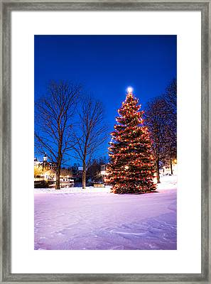 New Years Day Framed Print