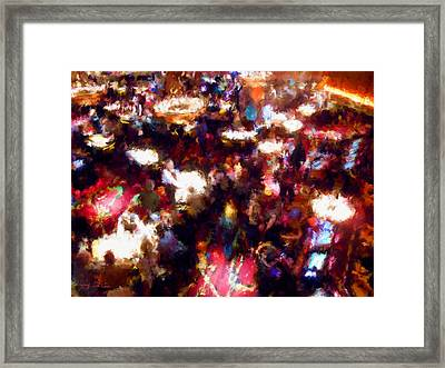 New Years Eve Gaming Framed Print