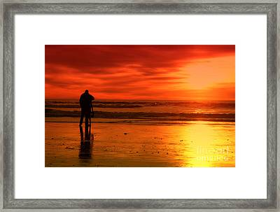 New Year's Love By Diana Sainz Framed Print by Diana Sainz