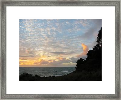 New Year's Sunset Framed Print by Tim McKusick